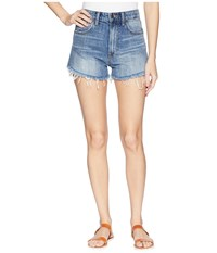 Lucky Brand Pins Shorts In Hartley Tulip Hartley Tulip Blue