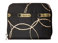 Le Sport Sac Claire Gold Links Coin Purse Black