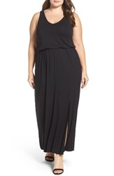 Sejour Plus Size Women's Jersey Maxi Dress