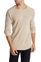Lucky Brand Thermal Crew Beige