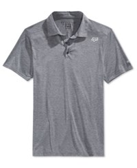 Fox Men's Rookie Polo Heather Grey