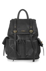Topshop 'Edinburgh' Faux Leather Backpack