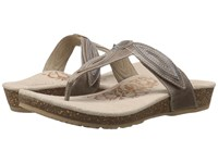 Aetrex Terri Stone Women's Sandals White