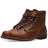 Red Wing Shoes 8085 Heritage 6 Iron Ranger Boot Brown