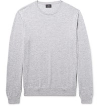 J.Crew Melange Cashmere Sweater Light Gray