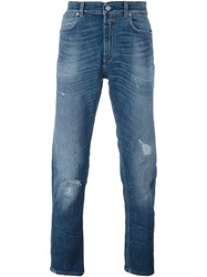 Closed Stonewashed Skinny Jeans Blue