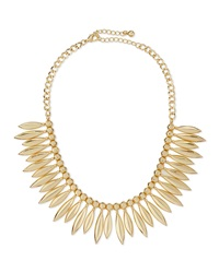 Jules Smith Designs Jules Smith Tribal Statement Necklace Gold