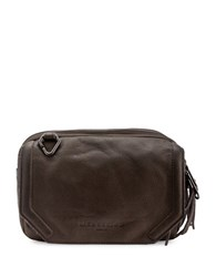 Liebeskind Maike W Leather Crossbody Bag Grey