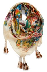 Johnny Was Women's Festival Scarf Mixed Print