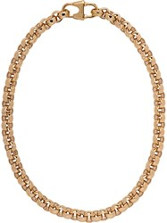 Prada Chain Necklace With Logo F0056 Gold