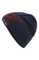 Men's Arc'teryx 'Bird Head' Wool Blend Toque Hat Blue Admiral