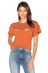 Mate The Label Take A Hike Tee Burnt Orange