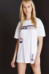 Truly Madly Deeply Speed Demon Tee White