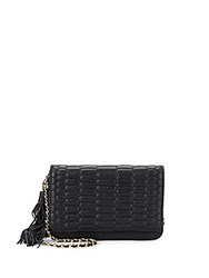Aimee Kestenberg Medina Leather Crossbody Bag Black