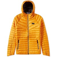 Nike Hooded Down Jacket Orange