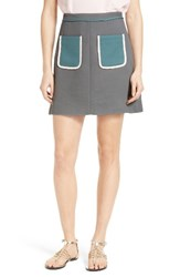 Ted Baker Women's London Naira Contrast Pocket Skirt
