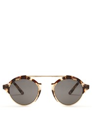 Illesteva Milan Sunglasses Brown Multi