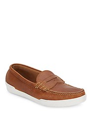 Eastland Slip On Leather Penny Loafers Tan