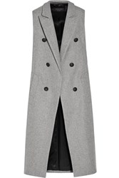 Rag And Bone Faye Wool Blend Gilet Gray