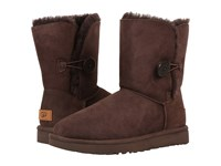 Ugg Bailey Button Ii Chocolate Women's Boots Brown