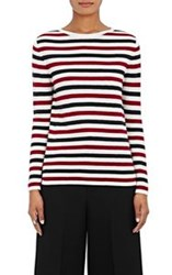 Barneys New York Women's Striped Cashmere Sweater Multi