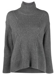 Zadig And Voltaire Dine C Knitted Sweater Grey