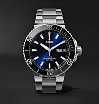 Oris Aquis Big Day Date Automatic 45.5Mm Stainless Steel Watch Blue