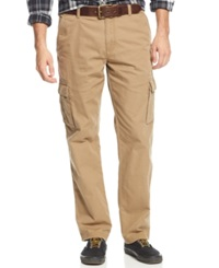 American Rag Solid Cargo Pants Dull Gold