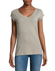Cronytex V Neck T Shirt Safari