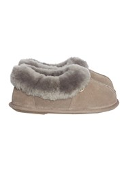 Just Sheepskin Scoop Out Classic Slipper Mink