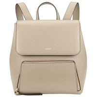 Dkny Bryant Park Saffiano Leather Backpack Clay