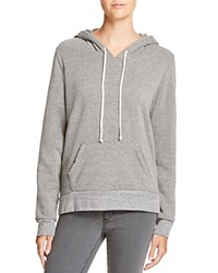 Alternative Apparel Athletics Hoodie Eco Grey