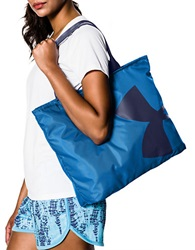 Under Armour Oversized Logo Tote Blue