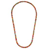John Lewis Wooden Bead Long Necklace Multi