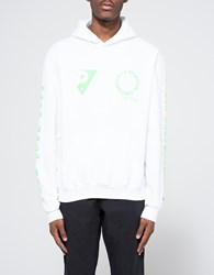 Token Surfboards Mosco Print Hoodie In White
