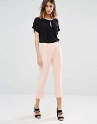 Vero Moda Soft Peg Trousers Pale Blush Pink