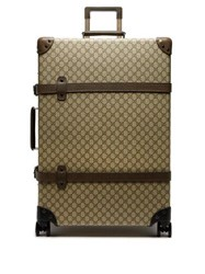 Gucci X Globe Trotter 30 Gg Canvas Suitcase Brown Multi