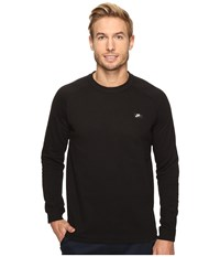 Nike Sportswear Modern Crew Black Men's Long Sleeve Pullover