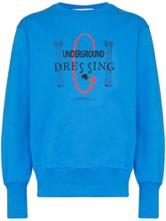 Eytys Lennox Crew Neck Jumper Blue