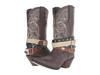 Durango Crush Western Accessory 12 Dark Brown Cowboy Boots