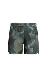 Peak Performance West 4Th Street Lightweight Shorts Green Multi