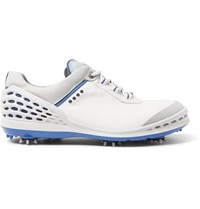 Ecco Cage Leather Golf Shoes White