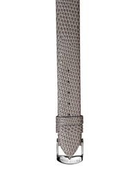 Philip Stein Teslar Philip Stein 12Mm Lizard Embossed Leather Watch Strap Gray