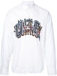 Doublet Embroidered Shirt White