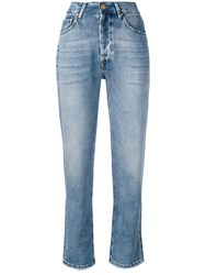Don't Cry Straight Leg Jeans Blue
