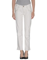 Jeckerson Denim Pants Ivory