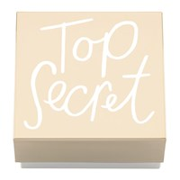 Kate Spade All That Glistens 'Top Secret' Covered Box
