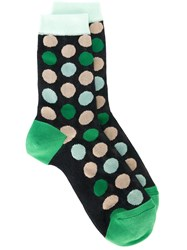 Paul Smith Polka Dot Socks Green