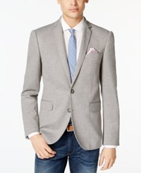 Bar Iii Men's Knit Slim Fit Sport Coat Only At Macy's Grey