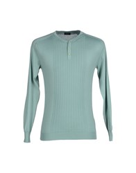 Yoon Knitwear Jumpers Men Light Green